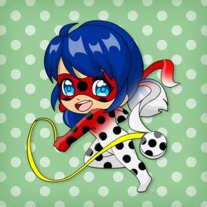 Chibi Dottedgirl Coloring Book
