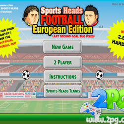 Sports Heads: Football European Edition
