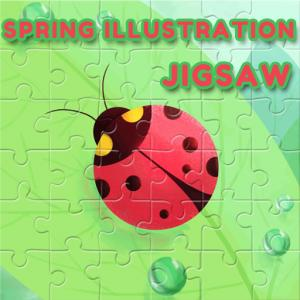 Spring Illustration Puzzle
