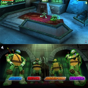 Teenage Mutant Ninja Turtles: Turtle Tactics 3d