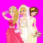 Barbie's Wedding Selfie With Princesses