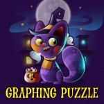 Graphing Puzzle Halloween